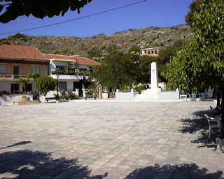 Rodopos Village Square, Rodopos Peninsula, North-West Crete